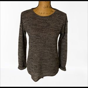 Topshop medium-small Gray soft comfy blouse